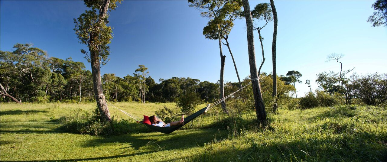 Elephant Pepper Camp Honeymoon Tent - Relaxing in hammock_preview