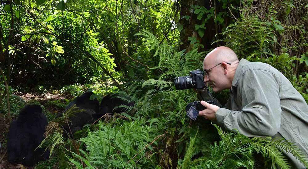 Gorilla Trekking in Bwindi N. Park Uganda