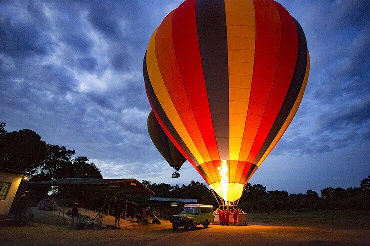 Balloon Safaris in Kenya
