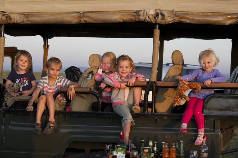 Family Safari Jeep