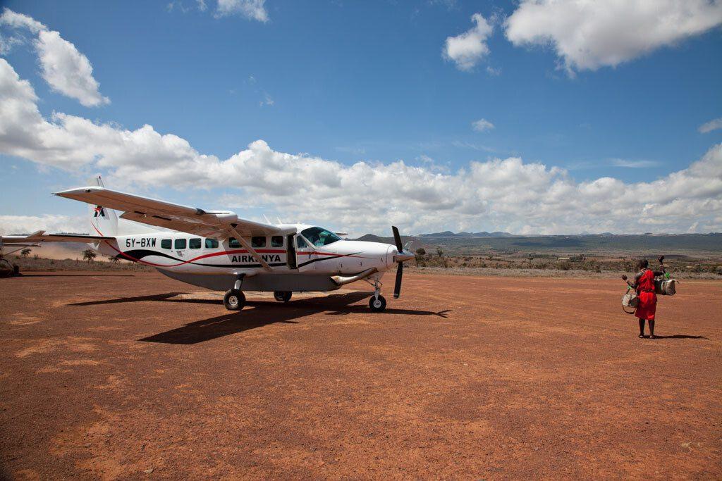 flying safaris in Kenya