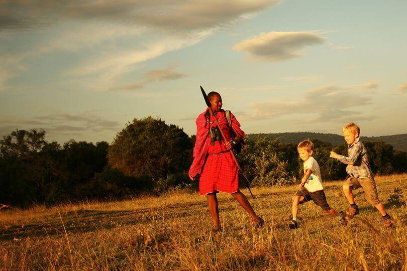 Masai Mara guide family Safari