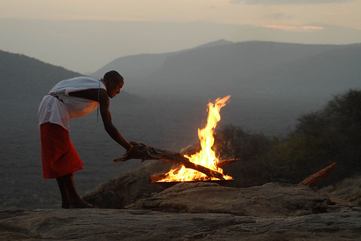 Samburu sundowner