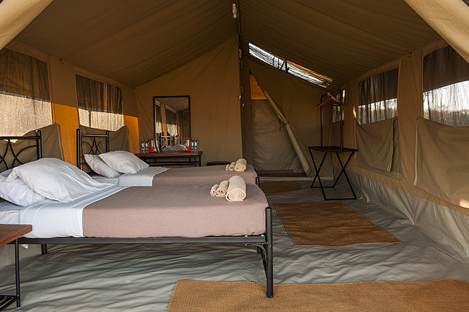 Kati Kati Tented Camp In Serengeti National Park