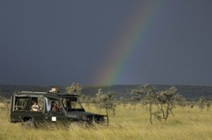 Rainbow on Safari