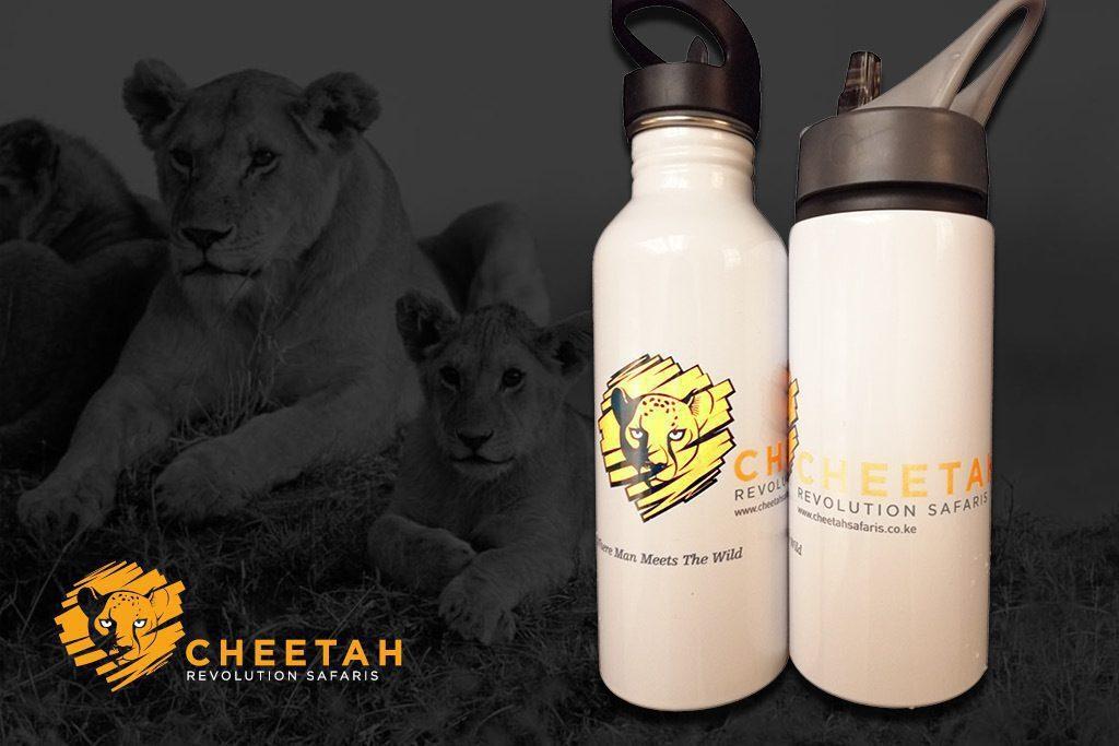 Cheetah bottle
