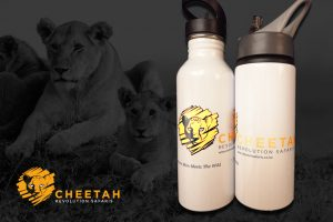 Cheetah bottle
