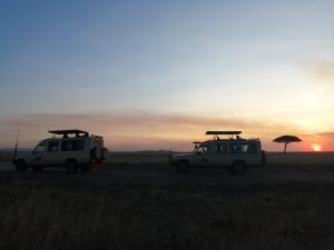 Sunset In Masai Mara - Cheetah Safari Jeeps - Cheetah Safaris