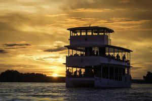 Zambezi and Victoria Falls River Sunset Cruiser Zambia - Cheetah Safaris